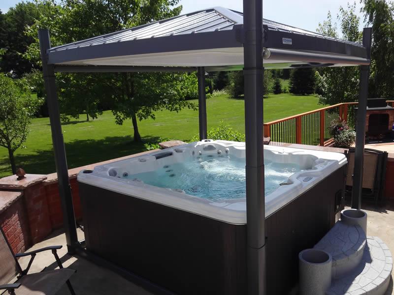 Oasis hot tub gardens grand rapids mi